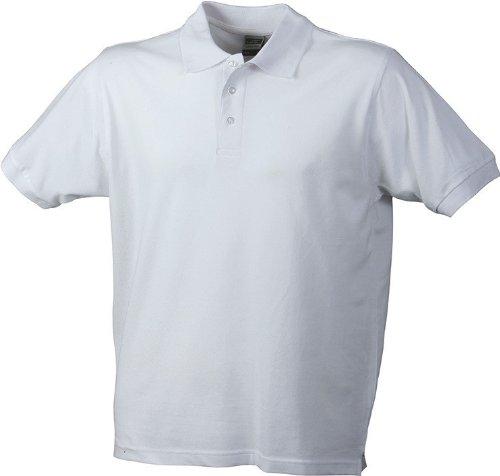 Klassisches Herren Poloshirt White