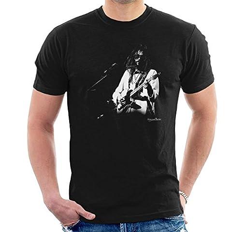 Neil Young Manchester Palace 1973 Men's T-Shirt (Manchester Zu Weihnachten)