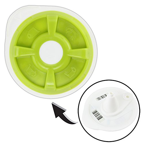SPARES2GO Hot Water T Disc for Bosch Tassimo T12 T20 T32 T40 T42 T65 T85 or VIVY Coffee Machine (Green) Test