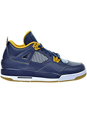Nike Air Jordan 4 Retro BG (GS) 'Dunk from Above' - 408452-425 - Size 3.5 -