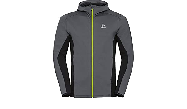 Odlo Hoody Midlayer Full Zip Saikai Polaire Homme: Amazon