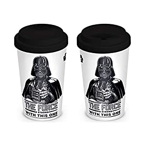 Star Wars Darth Vader - The Force is strong with this one Kaffee-Becher Standard