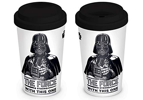 La Guerra de Las Galaxias Darth Vader - The Force is Strong with This One Taza de café Standard
