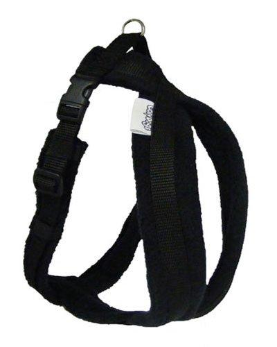 cosydogs-schwarzen-fleece-hundegeschirr-grossen-0-6-sie-und-ihren-hund-zu-fuss-auf-leichtigkeit-und-