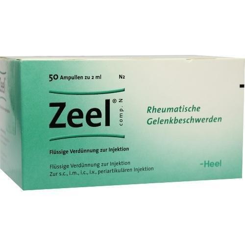 ZEEL COMP N 50St Ampullen PZN:277842 by Biologische Heilmittel