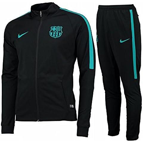 Nike Fcb M Nk Dry Trk Suit Sqd K - Chándal para hombre, color negro, talla L