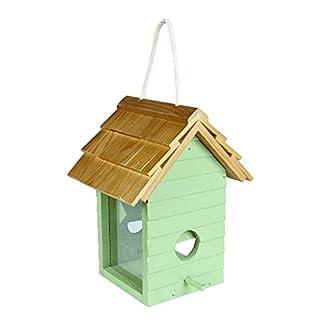 Gardman A04334 Beach Hut Seed Feeder - Green/blue 8