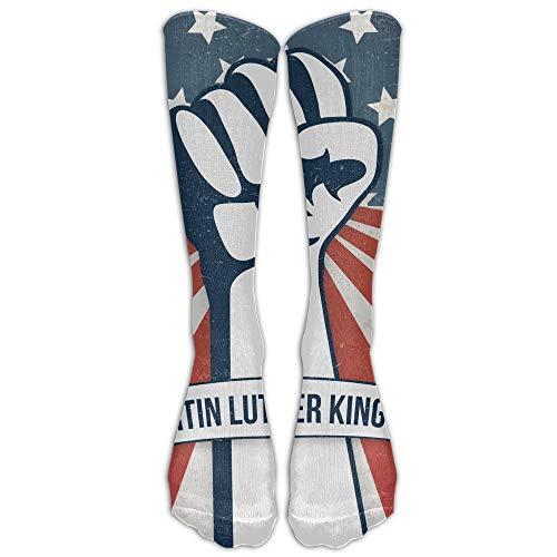 REordernow Martin Luther King Day Womens Comfort Fashion Sports Stockings Socks Socken