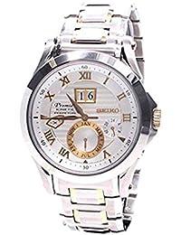 Seiko De los hombres Watch Premier Kinetic Perpetual Japan Reloj SNP072P1