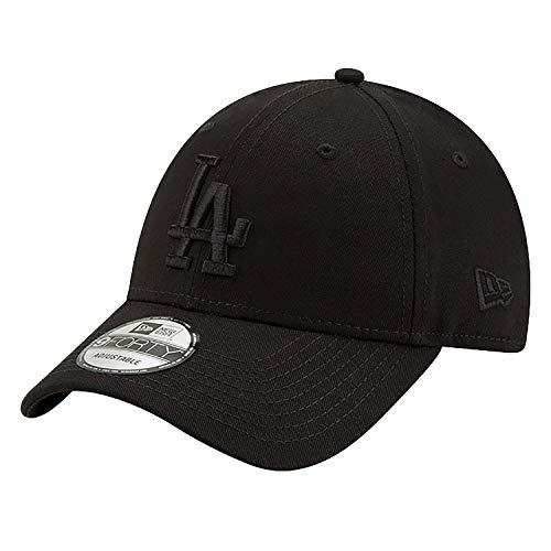 New Era 9Forty Snapback Cap LA Dodgers Schwarz Schwarz, Size:ONE Size Osfm Flex Cap