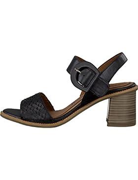 Tamaris Schuhe 1-1-28314-28 bequeme Damen Sandalette, Sandalen, Sommerschuhe für modebewusste Frau,