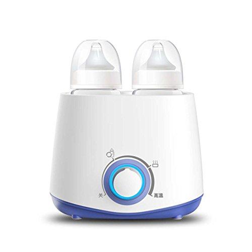 Doppelzylinder Milch Wärmer Doppelflasche Thermostatischer Milchwärmer Sterilisationsgerät Multi-Funktions-Intelligente Heiße Milch Gerät.
