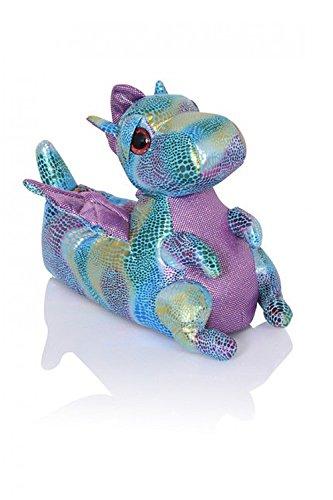 Unisex Tierhausschuhe aus Plüsch - Kinder & Erwachsene Dina Dragon