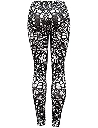 ea9ce8ac78ce Beautyjourney Legging Collant Sexy Yoga Combi Pantalon Femme Legging Taille  Haute Femmes Leggings De Sport Haute
