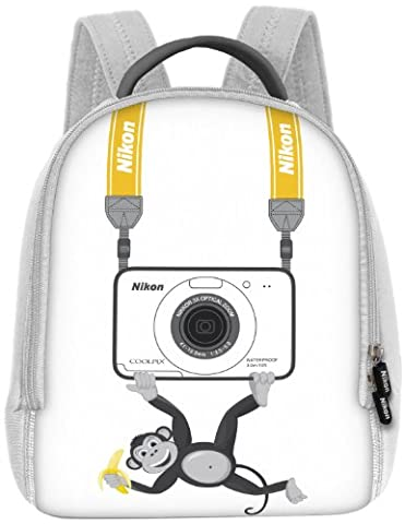 Nikon CS-L07 Sac à dos pour Coolpix S30 Blanc,Modèle aléatoire