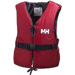 Helly Hansen Unisex Rettungsweste Sport II, Rot/Ebony, 60/70, 33818_164