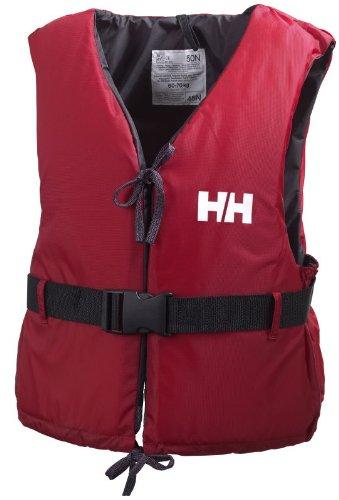 Helly Hansen Sport II, Aiuto al Galleggiamento Unisex Adulto, Rosso (Red/Ebony), 90+ kg