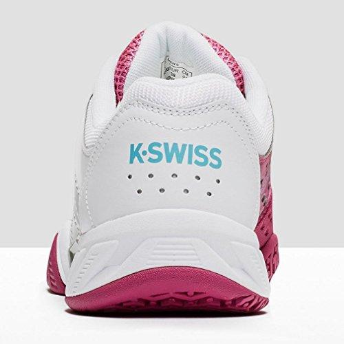 K-SWISS BIGSHOT LIGHT2.5OMNI WHT/VRYBRY/BCHLRB Pink