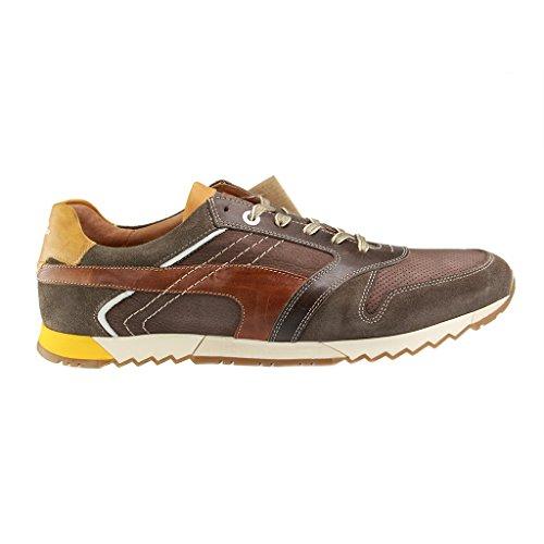 Australie Shoes-Chaussures basses Homme-Marron Chaussures en übergrößen Marron - Marron