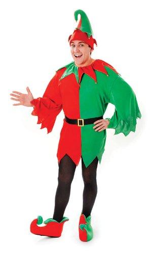 Bristol Novelty AC861 Kleiner Weihnachtskobold Kostüm, Bunt