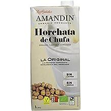 Amandin Horchata de Chufa - Paquete de 6 x 1000 ml - Total: 6000 ml