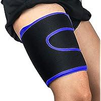Gracorgzjs - Protector de musculación de compresión para piernas, Azul