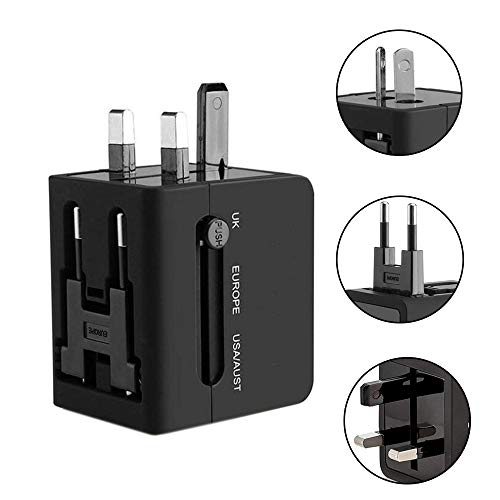 Reiseadapter, 2.1A Global Pass Conversion-Multifunktionsstecker Conversion Socket Tour Conversion, 2 USB-Anschlüsse