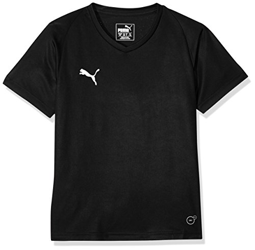 PUMA Kinder Liga Core Jersey, Black White, 164