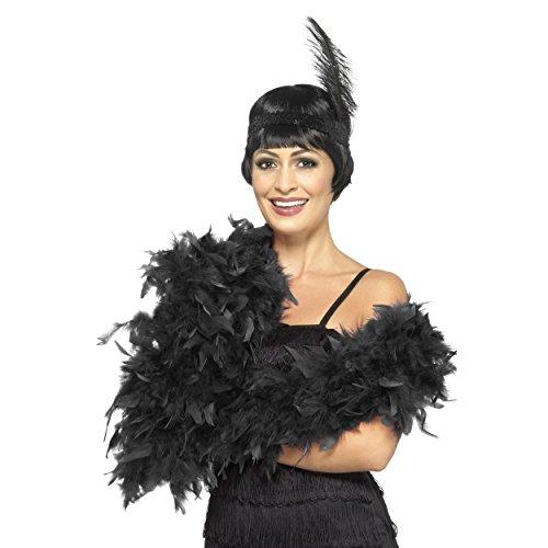 Hen Themen Kostüm - Fancy Dress Four Less Feder Boa Damen Deluxe 50g und 80g 150-180cm 1920's Burlesque Kostüm Zubehör Charleston Flapper Gatsby Gangster Hen Night Thema