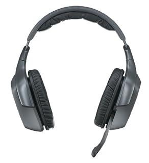 Logitech Wireless Headset F540 Casque (pavillon d'écouteur) sans fil 2,4 GHz (B0042BXPPK) | Amazon price tracker / tracking, Amazon price history charts, Amazon price watches, Amazon price drop alerts