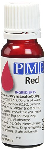 PME Colorant Alimentaire Naturel Rouge 25 g