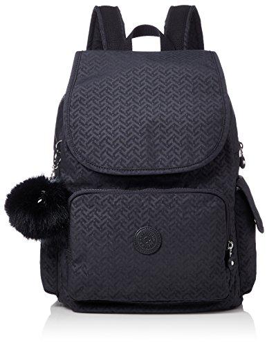 Kipling Damen City Pack Rucksack, Blau (Night Blue Emb), 15x24x45 centimeters