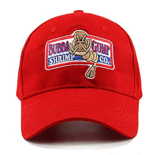 JKYJYJ 1994 Bubba Gump Shrimp Baseballmütze Männer Frauen Sport Hüte Sommermütze Bestickt Freizeithut Forrest Gump Kappen Kostüm (Teen Angel Kostüm)