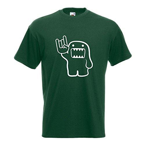 KIWISTAR - Heavy Domo T-Shirt in 15 verschiedenen Farben - Herren Funshirt bedruckt Design Sprüche Spruch Motive Oberteil Baumwolle Print Größe S M L XL XXL Flaschengruen