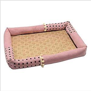Hundebett wasserdicht Sommer Haustier Hund Matte Klimaanlage Kühlung Zwinger für große kleine Stil 7_XL