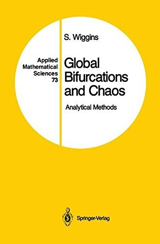 Global Bifurcations and Chaos: Analytical Methods (Applied Mathematical Sciences) by Stephen Wiggins (1988-04-20) par Stephen Wiggins