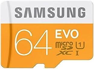 Samsung Micro SDXC 64GB EVO UHS-I Grade 1 Class 10 Speicherkarte