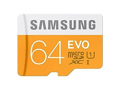 Samsung Carte Mémoire SDXC UHS-I EVO Micro SD Classe 10