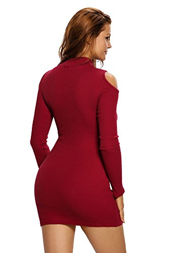 Cfanny - Robe - Moulante - Femme red
