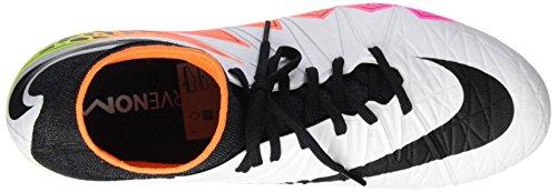Nike Herren Hypervenom Phantom II AG-R Fußballschuhe Blanco (Blanco (White/Black-Total Orange-Volt))