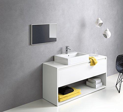 Hansgrohe – Einhebel-Waschtischmischer, Ablaufgarnitur, ComfortZone 110, Chrom, Serie Metris - 4