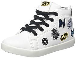Star Wars Jungen 162655 Hohe Sneaker, Schwarz Noir, 32 EU