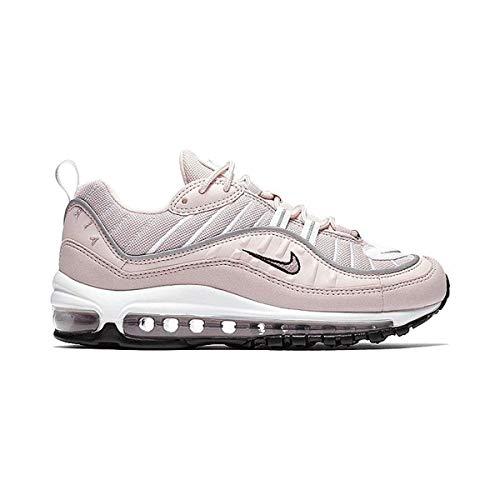 NIKE Schuhe Frau Turnschuhe AIR MAX 98 in rosa Stoff AH6799-600 -