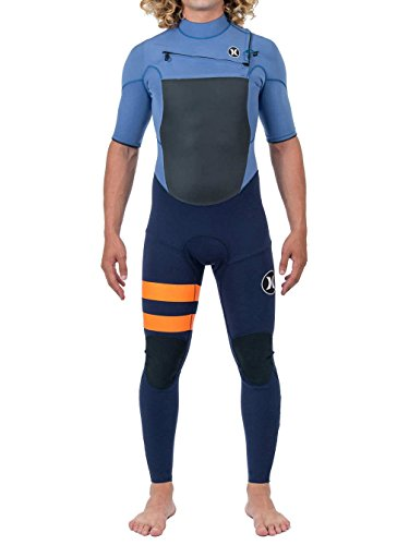 Hurley Fusion 202 S/S Fullsuit Wetsuits, Hombre, Obsidian, LT