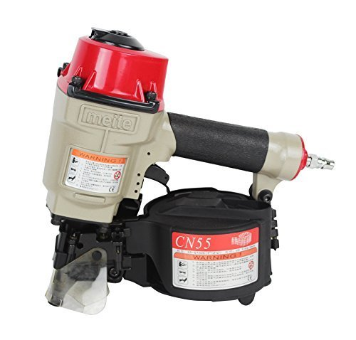meite-cn55-1-inch-to-2-1-4-inch-industrial-coil-siding-nailer-with-aluminum-housing-by-meite