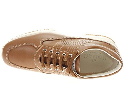 bucata Donna H Interactive Cuoio Sneaker HXW00N00E30D0WC801 Hogan fAqxgzPwq