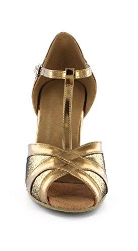Minitoo ,  Damen Tanzschuhe , Gold – gold – Größe: 39 - 4