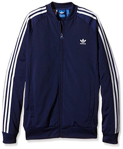 Adidas giacca da allenamento Ragazzo Superstar, Ragazzo, Trainingsjacke Superstar, Midnight Indigo F15/White, 176
