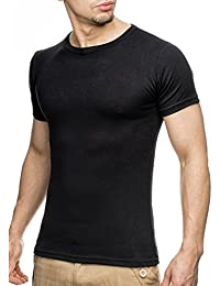 WILUSA Herren T-Shirt Basic Sweat Shirt
