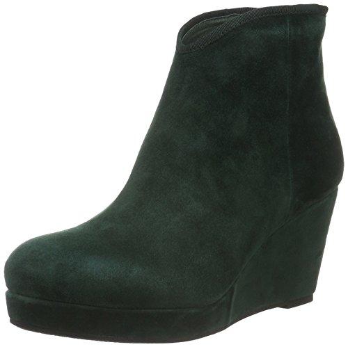 Sofie Schnoor Damen Wedge Boot Suede Kurzschaft Stiefel Grün (Green)